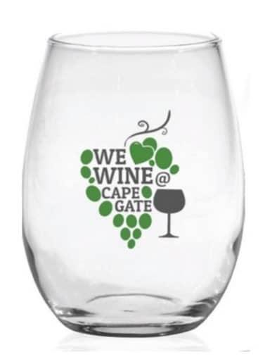 custom printed wine glasses
